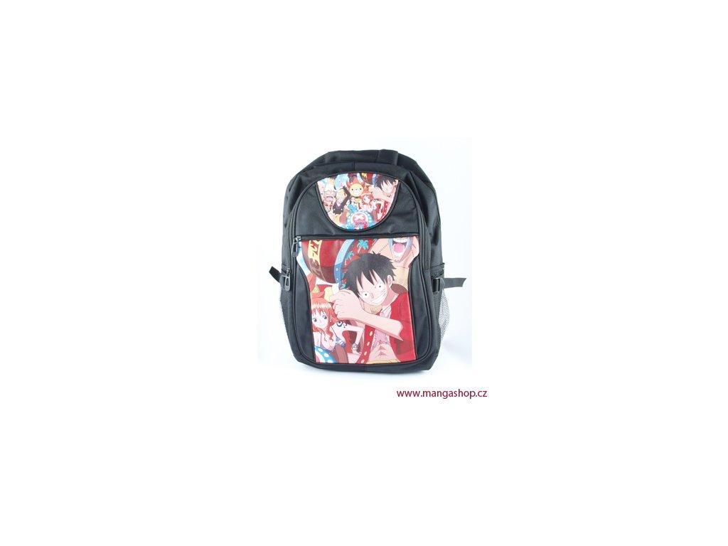 Černý batoh Luffy