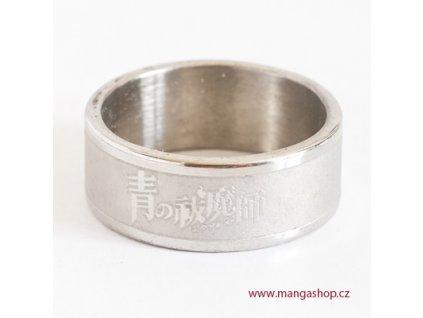Elegantní prsten Ao no Exorcist