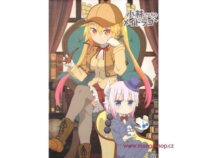 Plakát Kobayashi-san Chi no Maid Dragon 24