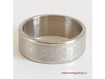 Elegantní prsten Soul Eater vel.18