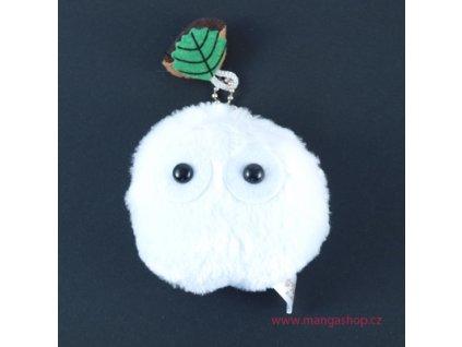 Plyšová klíčenka Soot - bílý