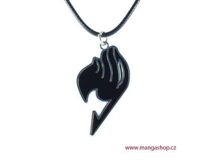 Přívěšek Fairy Tail - černý
