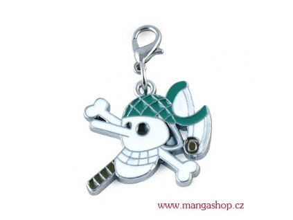 Přívěšek pirátská lebka - Usopp