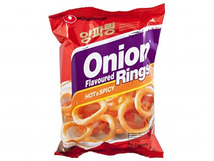 Nongshim Onion Rings Hot & Spicy 40 g
