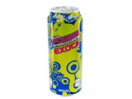 Power Energy Club Drink Exotic - 500 ml