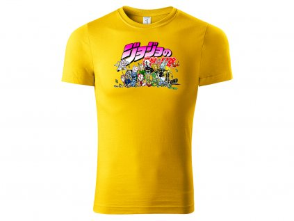 Jojo chibi characters žluté