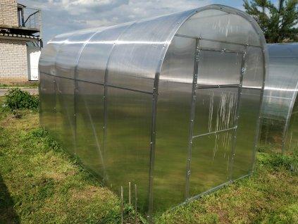 skleník LANITPLAST DNĚPR 2,10x6 m PC 4 mm