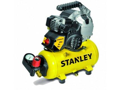 STANLEY HY 227/8/6 E FUTURA Kompresor samomazný, nádrž 6L, tlak 8 Bar