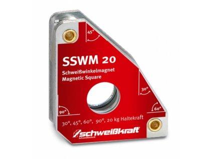 Permanentní svařovací úhlový magnet SSWM 20