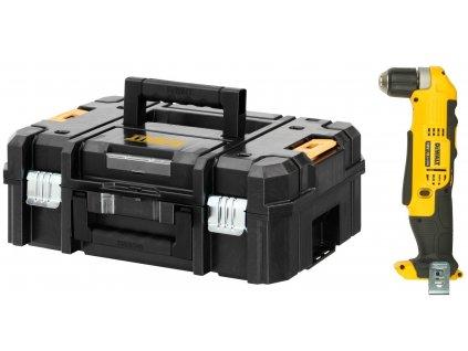 509 dcd740nt dewalt 18 volt aku pravouhla vrtacka bez baterie a nabijecky kufr t stak