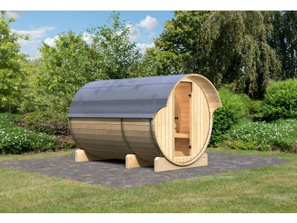 finská sauna KARIBU FASSAUNA 3 (66853)