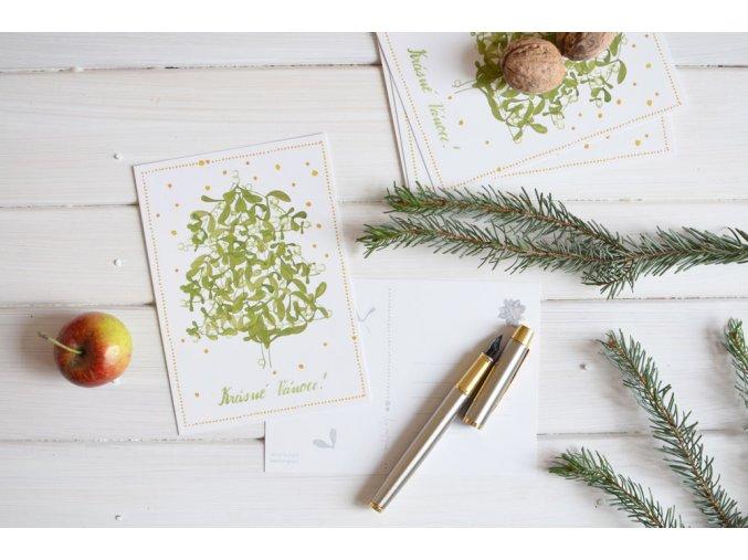pohlednice stromecek1