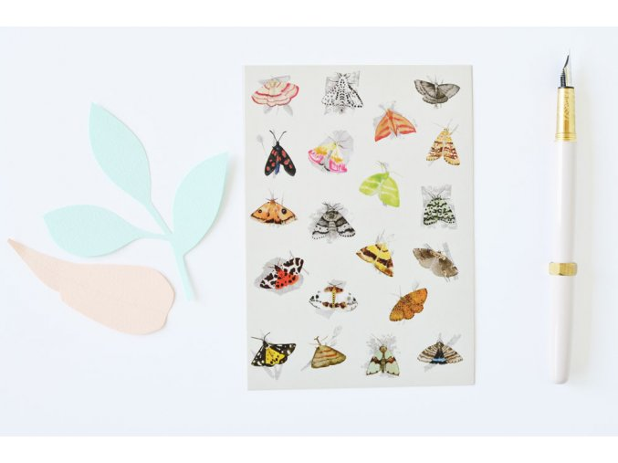 pohlednice mury