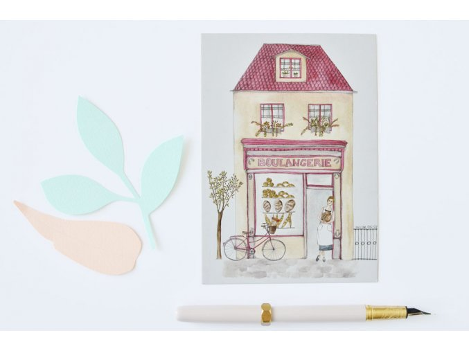 pohlednice pekarna