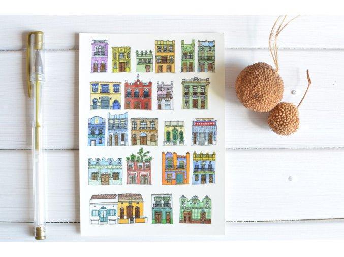 pohlednice domecky