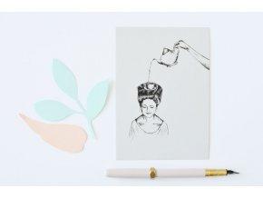 pohlednice konvicka