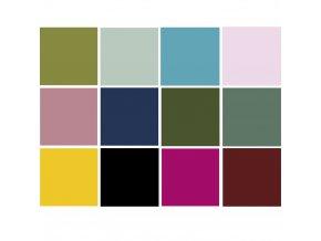 papiry barevne