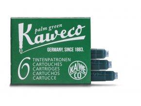 Kaweco zásobníky do pera, 6 ks - Palm Green