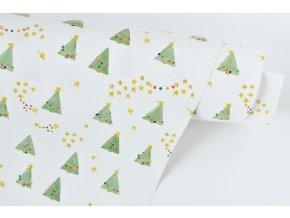 vanocni balici papir stromky3