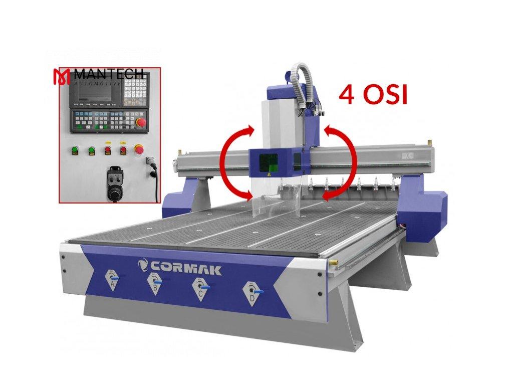 CNC frézka CORMAK C1313 4 osová PREMIUM 0