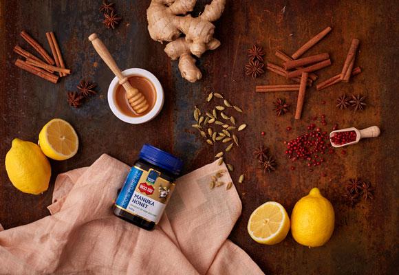 4 recepty na chrípku a prechladnutie s Manuka medom