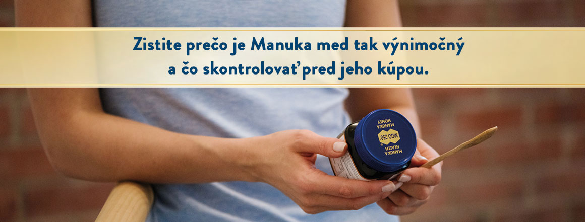 Zoznámte sa s Manuka medom