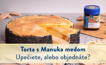 Torta s manuka medom - Recept