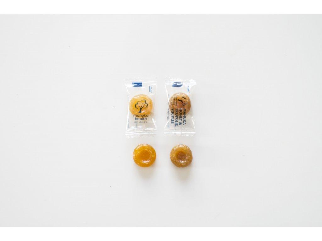 2 cukríky v obálke - citrón & propolis