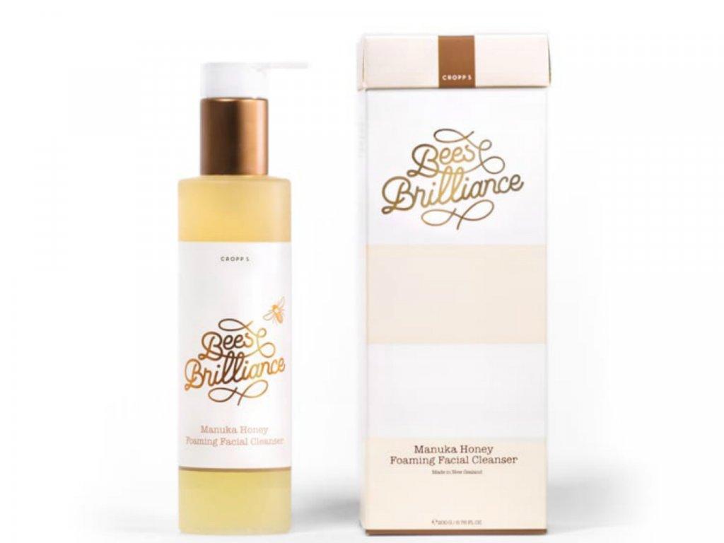 Manuka Honey Foaming Facial Cleanser - Čistiaci penový gél na tvár s Manuka medom 200m