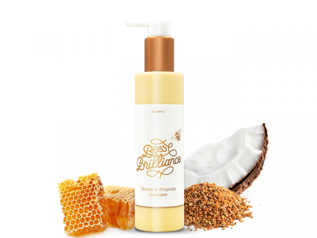 408 Čistiaci prostriedok Honey & Propolis 180 gramov Honey Cleanser w box web