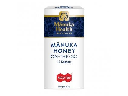 MGO 100+ Manuka med v 5g sáčkoch - 12 x 5g (60g)