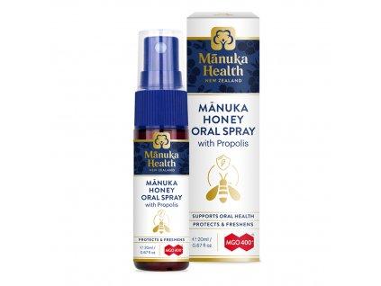 Ústny sprej Manuka med & Propolis 20ml