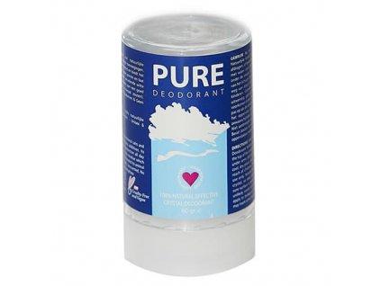 100% prírodný PURE Deodorant - kryštál 60g