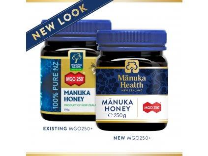 164 MGO 250+ Manuka med 250g