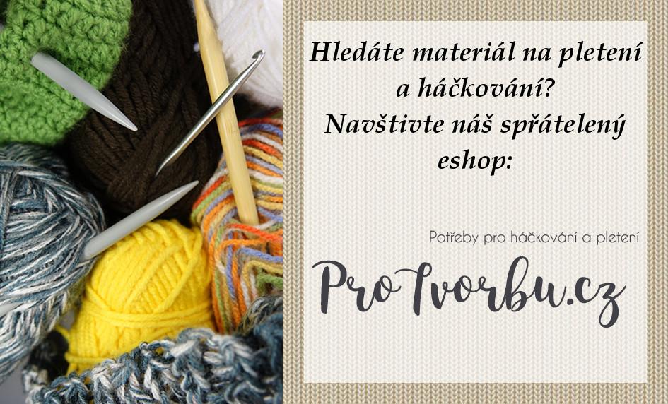 Pro Tvorbu - materiál na pletení a háčkování