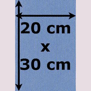 Obdélník 20 x 30 cm