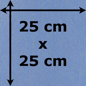 Čtverec 25 x 25 cm