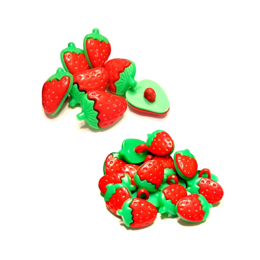 jahody plast male a velke