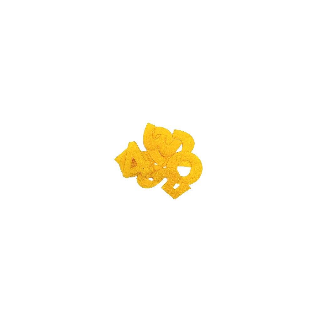 01 čísla žlutá