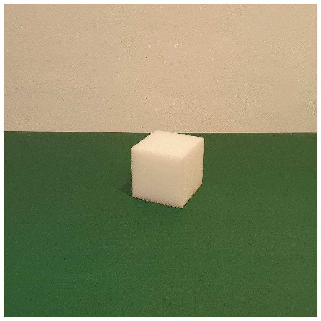 Molitanová kostka 10 x 10 x 10 cm