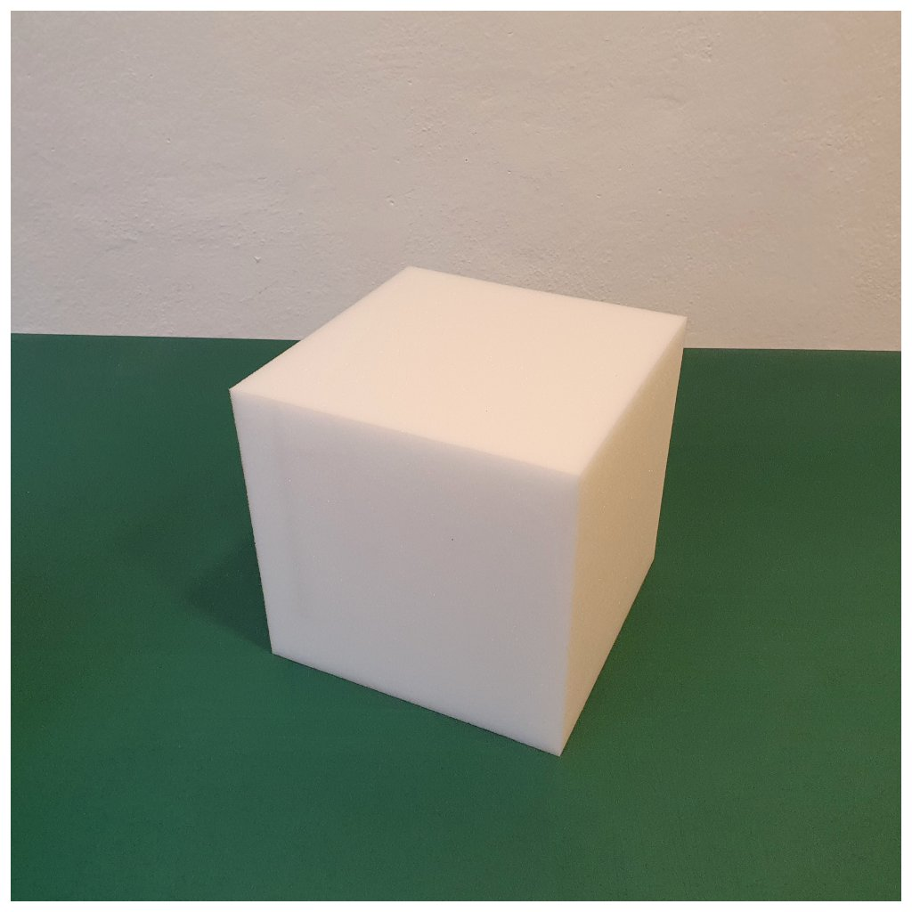 Molitanová kostka 15 x 15 x 15 cm