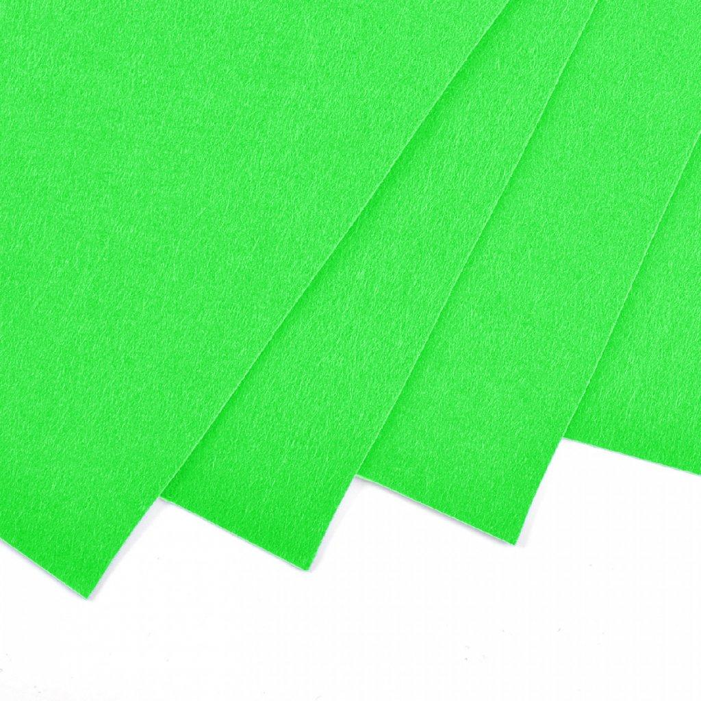 14 green light neon
