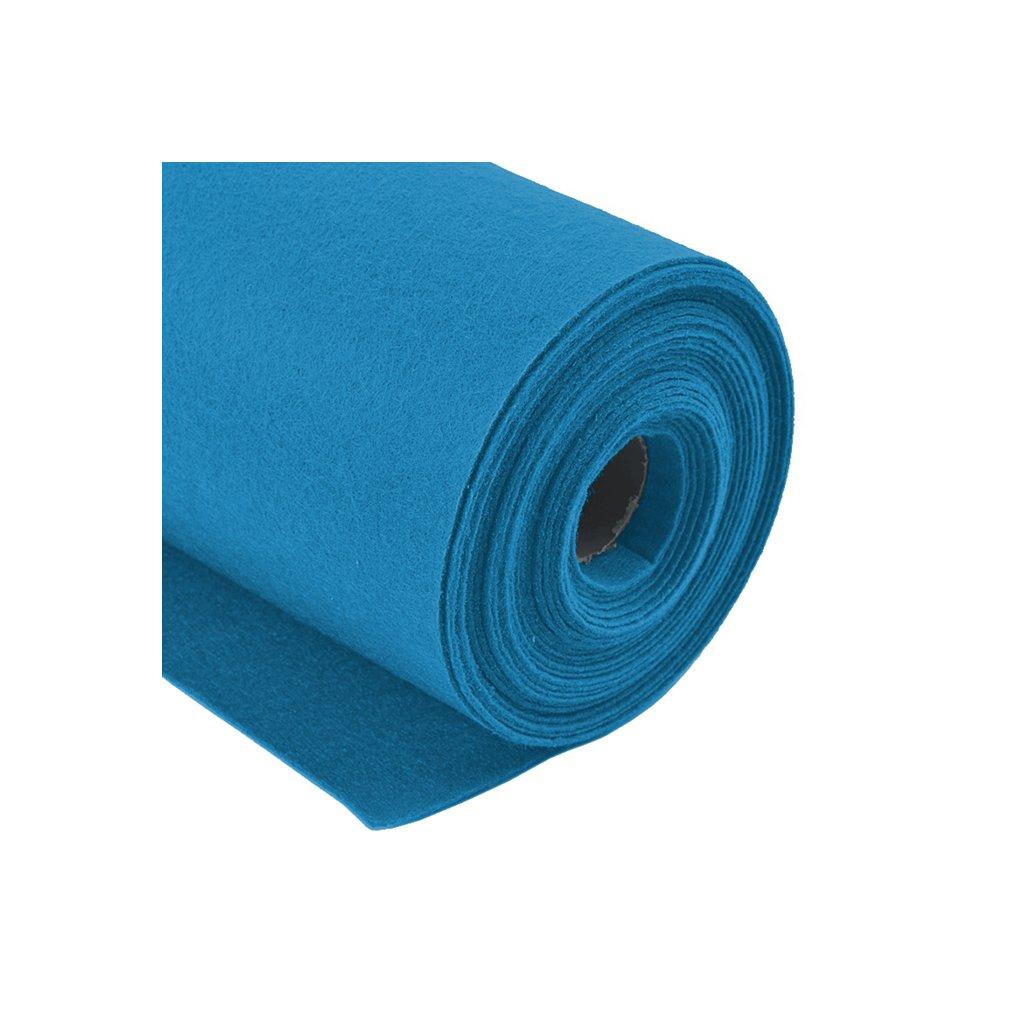 Filc modrý metráž š. 42 cm