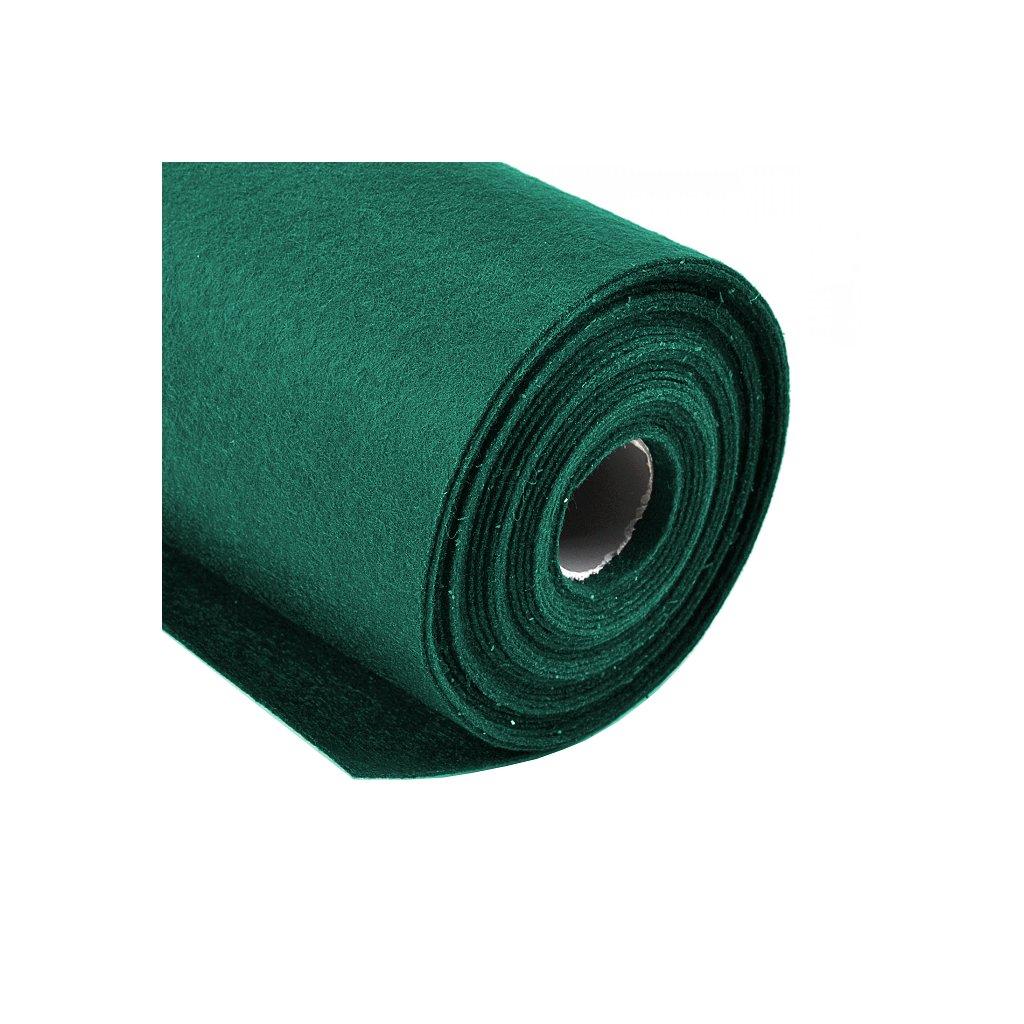 Filc lesní zelený metráž š. 42 cm