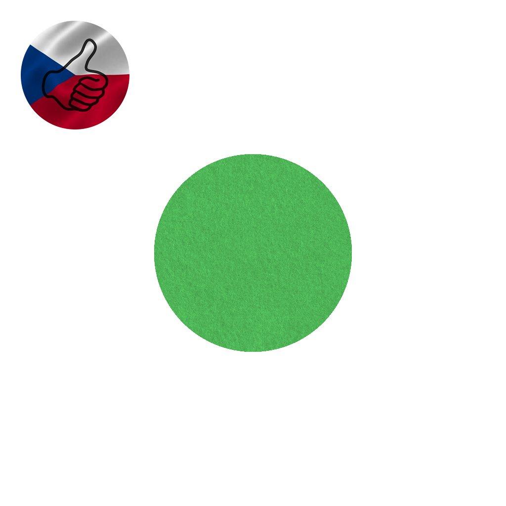 22 hraskove zeleny filc
