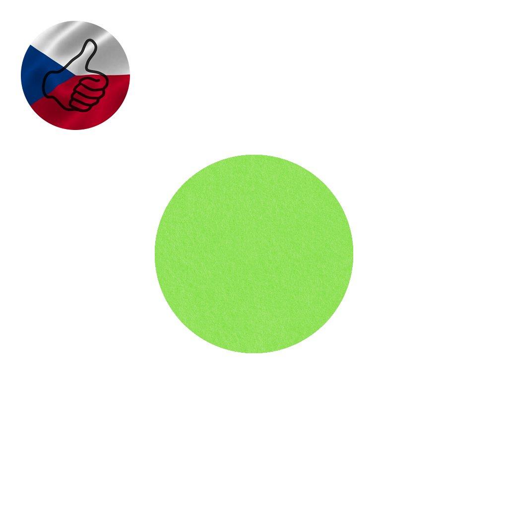 21 svetle zeleny filc