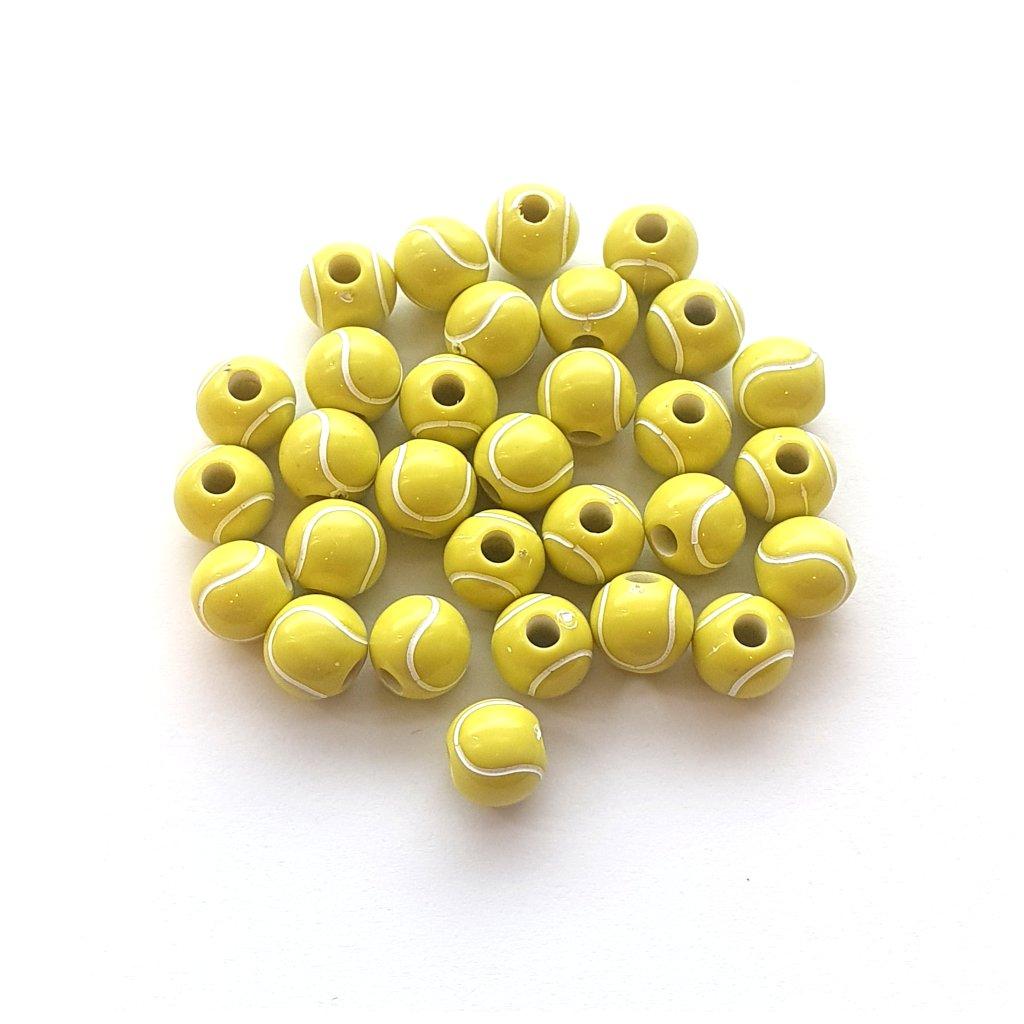 korálek tenisový míček