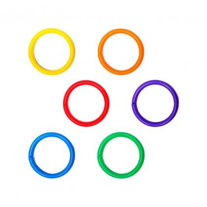 krouzek plast barevny mix