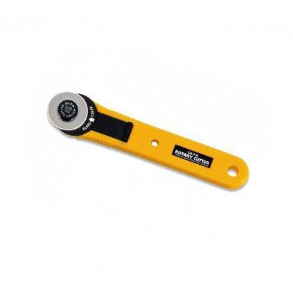 Rotační kruhový řezač Olfa 28 mm (tzv. řezací kolečko)
