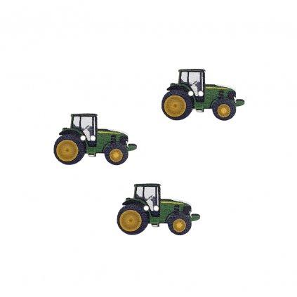 traktor zeleny